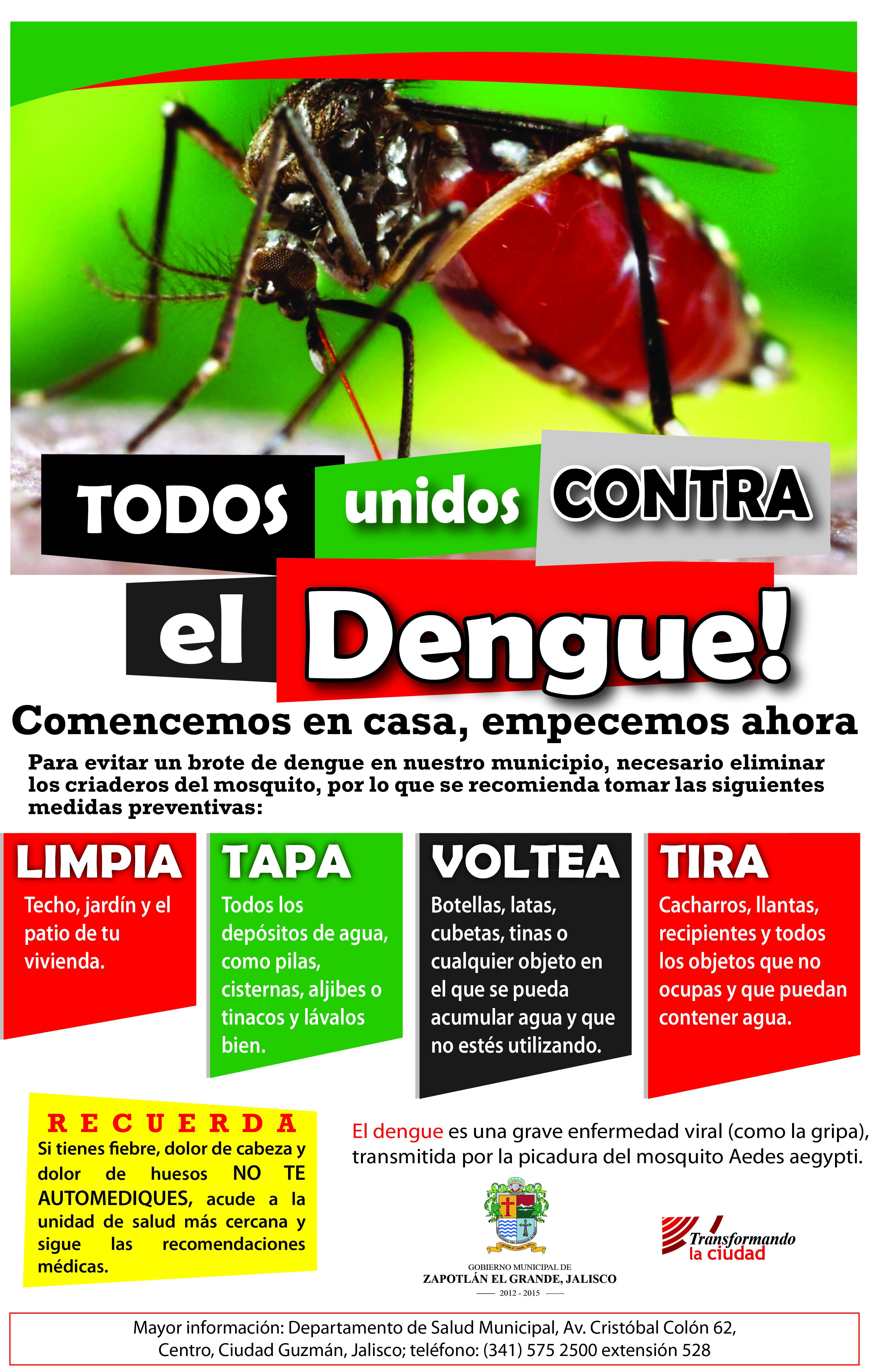 Gobierno municipal de zapotl n el grande jalisco for Como eliminar los mosquitos del jardin